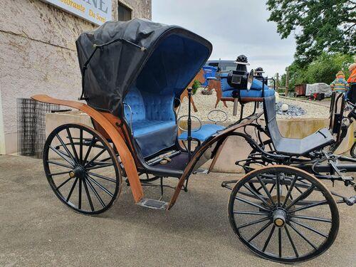 weiße Kutsche Hochzeitskutsche 2 Pferde 3 Figuren handbemalt NOCH 16706 H0
