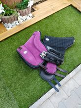 Brockamp Reitpad  Pony mit Physiopad violett, Brockamp  Gr. Pony, Nadine Sailer , Saddle Accessories, Velden